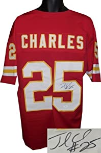 Jamaal Charles Autographed Hand Signed Kansas City Chiefs Red Prostyle Jersey (signed... by Hall of Fame Memorabilia