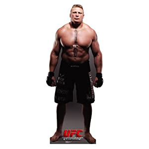 Advanced Graphics UFC Brock Lesnar Lifesize Wall Decor Cardboard Standup Cutout Standee Poster 76