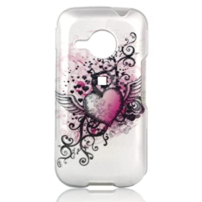 Phone Shell for HTC Droid Eris - Grunge Heart