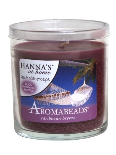 Hanna's At Home AROMABEADS Caribbean Breeze 5.5oz Candle
