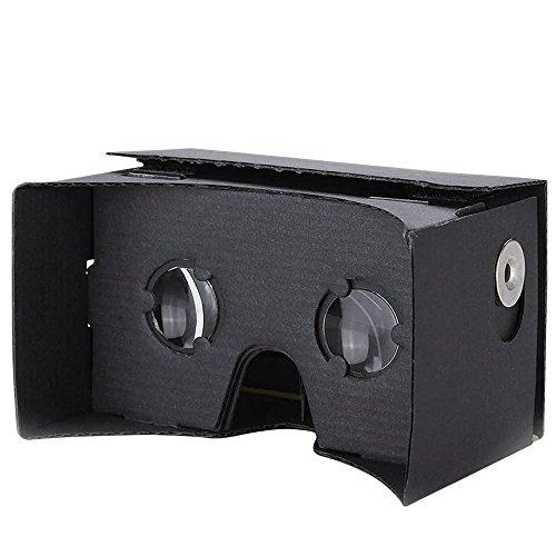 Kollea Google Cardboard Virtual Reality 3D Glasses DIY Kit