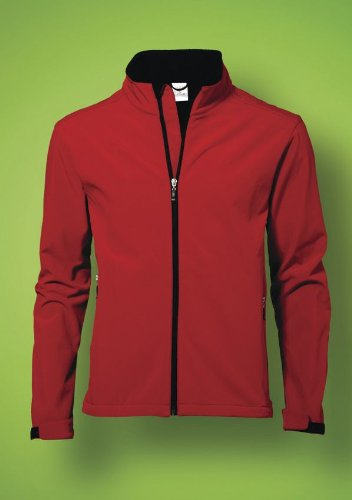 SG Men's Softshell Jacket-Black-sizeS