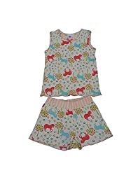 Snoby Girls tank top and shorts set (SBYK1200)