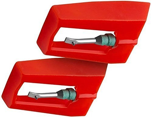 TechPlay pack of 2, Roby needle for Turntables
