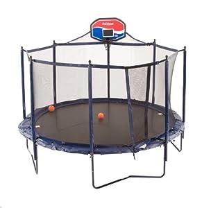 JumpSport Elite Basketball Trampoline Package, 10-Feet