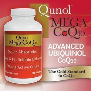 Qunol Mega Coq10 Softgels, 100 Mg, 120 Count