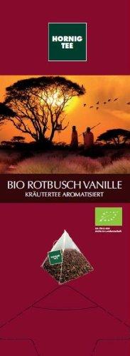 Organic Rooibos Tea Vanilla - 25 Triangle sachets, 62,5 g