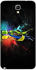Timpax protective Armor Hard Bumper Back Case Cover. Multicolor printed on 3 Dimensional case with latest & finest graphic design art. Compatible with Samsung Galaxy Note 3 Neo / N750 Design No : TDZ-25868