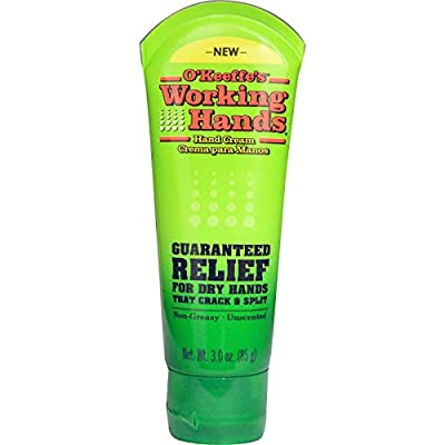 O'Keeffe's, Working Hands, Hand Cream, Unscented, 3 oz (85 g)
