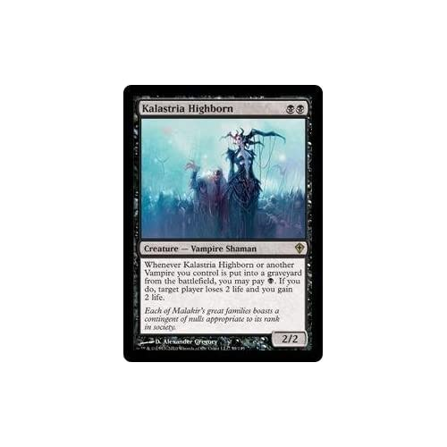 Amazon.com: Magic: the Gathering - Kalastria Highborn - Worldwake