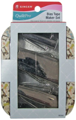 Find Discount Singer Bias Tape Maker Kit in Decorative Tin