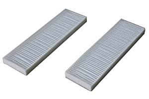 Generic Hepa Filters Suitable for Bissell Vacuum Style 7 9 32076 (Pack of 2)