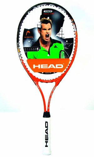 Head Radical 27 Tennis Racket - Orange, 2 Grip