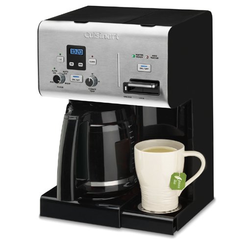 Cuisinart 10 Cup Coffee Maker With Hot Water System : Cuisinart 12-Cup Programmable Coffeemaker Plus Hot Water System from Cuisinart from Coffee Maker ...