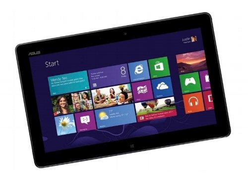 Asus VivoTab Bundle TF810C-1B026W 29.46 cm (11.6 Zoll) Tablet PC (Intel Atom Z2760 1,8GHz, 2GB RAM, 64GB eMMC, Touchscreen, Windows 8) grau inkl. Docking