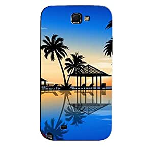 BLUE SKY BEACH BACK COVER FOR SAMSUNG GALAXY NOTE 2