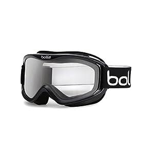 Bolle Mojo Snow Goggles (Shiny Black, Clear)