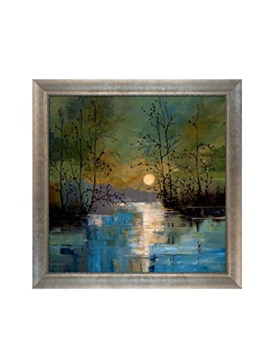 "Justyna Kopania ""River III"" Framed Giclée on Canvas"