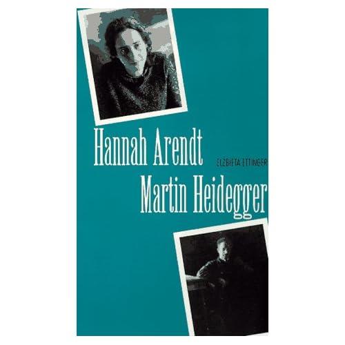Hannah Arendt/Martin Heidegger, Ettinger, Elzbieta