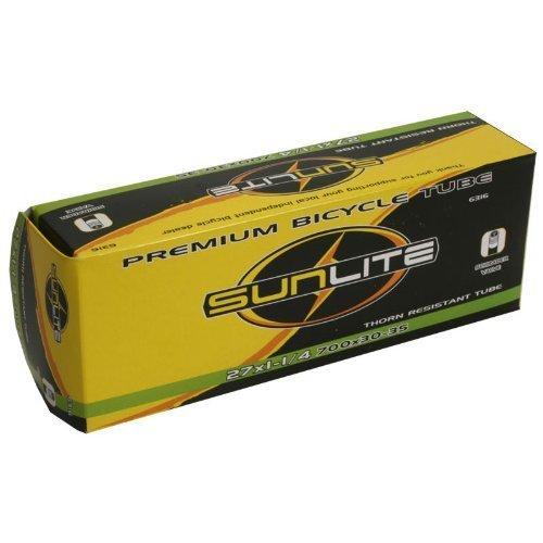 Sunlite Standard Tube 26 x 1.50-1.95 Presta Valve Cycling 32mm Threaded Valve...