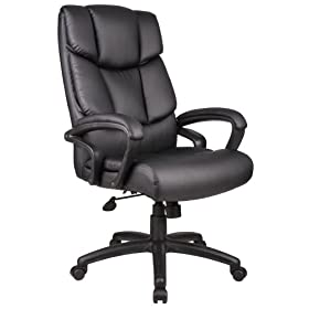 Leather Black Chair of Office Furniture