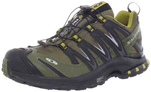 Salomon Salomon Men's XA Pro 3D Ultra 2 WP Trail Running Shoe,Olive/Black/Moss,10.5 M US