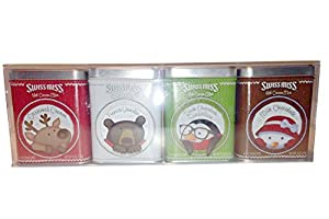 Swiss Miss Hot Cocoa Chocolate 4 Tin Variety Holiday Gift Pack