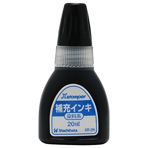 Shachihata X stamper dye-based ink 20ml black (japan import) (Dye Based Stamp Pad compare prices)
