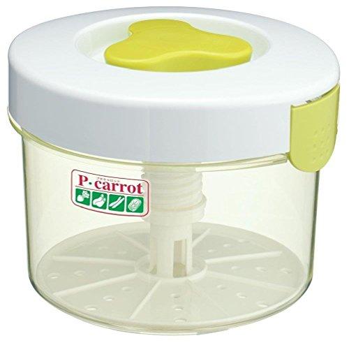 Tsukemono Round Shape Pickle Press P-Carrot 3.0 Liter (Chinese Pickle Pot compare prices)