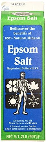 Epsom Salt 2Lb (907g) (Epsom Salts compare prices)