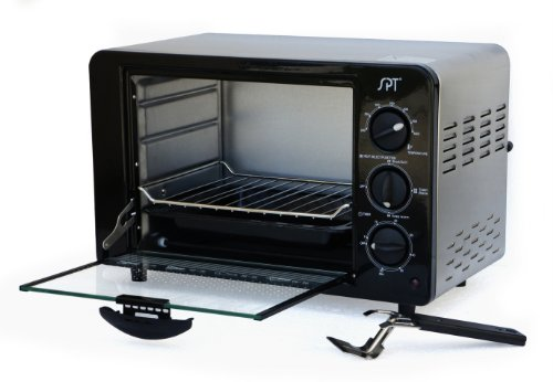 Sunpentown SO-1005 Stainless-Steel 1200-Watt 4-Slice Toaster Oven