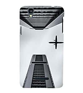 EPICCASE Flying between Scrapers Mobile Back Case Cover For YU Yureka Plus (Designer Case)