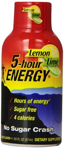 5-hour Energy, Lemon-lime, 2-Ounce Bottles (Pack of 12)
