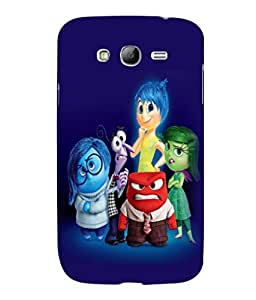 printtech Disney Inside Out Back Case Cover for Samsung Galaxy Grand Neo Plus::Samsung Galaxy Grand Neo Plus i9060i