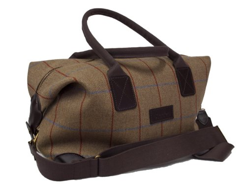 Bladen-Original-Mens-Tweed-Supasax-Wool-Cloth-Luggage-Holdall-Bag-15-Inch-Limited-Edition