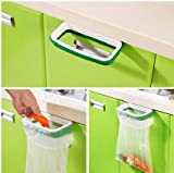 Plastic Garbage Bag Holder (Green) - MosQuick