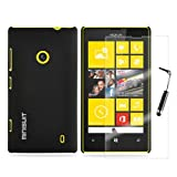 MiniSuit Bundle for Nokia Lumia 520 Smart Phone - Slim Rubberized Case Screen Protector Stylus