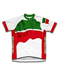 Tatarstan Flag Short Sleeve Cycling Jersey for Women