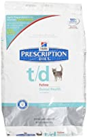 Hill's Prescription Diet t/d Feline Dental Health - 8.5lb