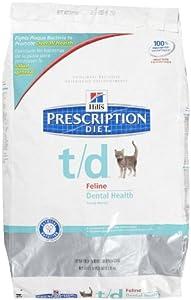Hill's Prescription Diet t/d Feline Dental Health - 8.5lb