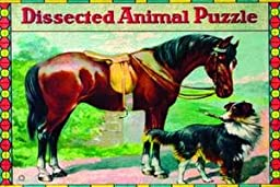 Paper poster printed on 20 x 30 stock. Dissected Animal Puzzle