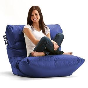 Amazon Com Big Joe Roma Bean Bag Chair Sapphire Kitchen