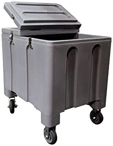 Buy Iowa Rotocast Ice Caddy Gray Color #IRP-2000 by Iowa Rotocast