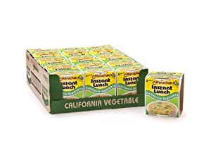 Maruchan Instant Lunch California Vegetable, 0.14-Ounce Packages (Pack of 12)