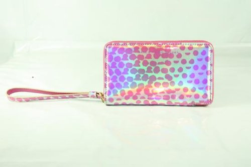 Marc By Marc Jacobs Marc Jacobs Wristlet Zip Pouch in Rose Gold Multi