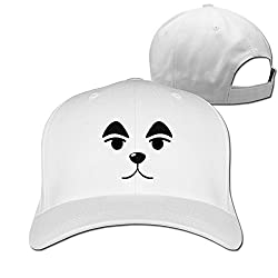 YAJENNIE Unisex Cute Dog Face Peaked Baseball Cap Hats