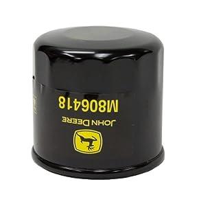 John Deere Original Equipment Oil Filter #M806418 from John Deere