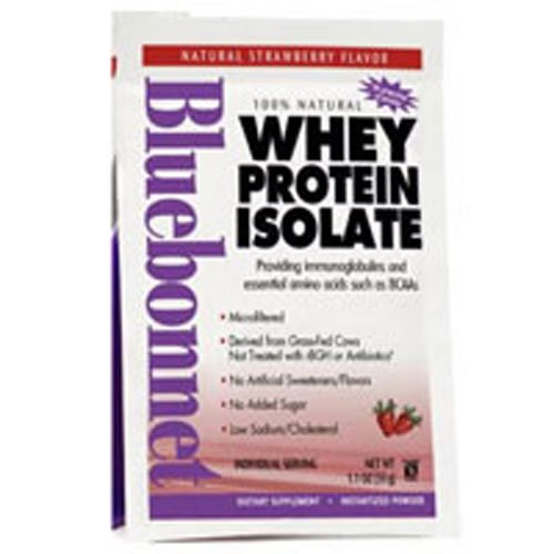 100% Natural Whey Protein Isolate Powder Natural French Vanilla Flavor, Natural French Vanilla Flavor 1.1 oz