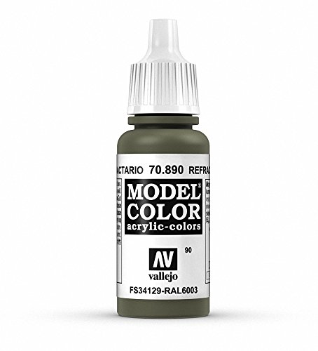 Vallejo Reflective Green Paint, 17ml