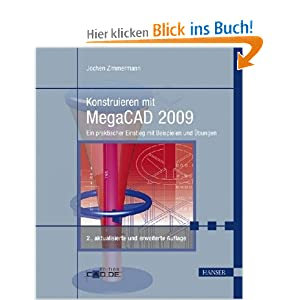 eBook Cover für  Konstruieren mit MegaCAD 2009 Ein praktischer Einstieg mit Beispielen und Uuml bungen